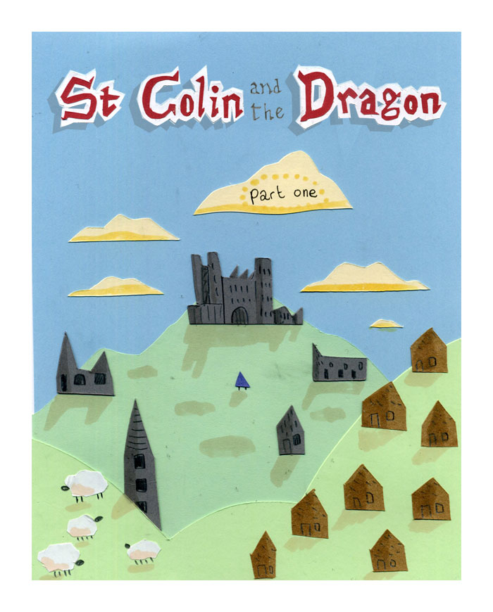 St Colin and the Dragon
