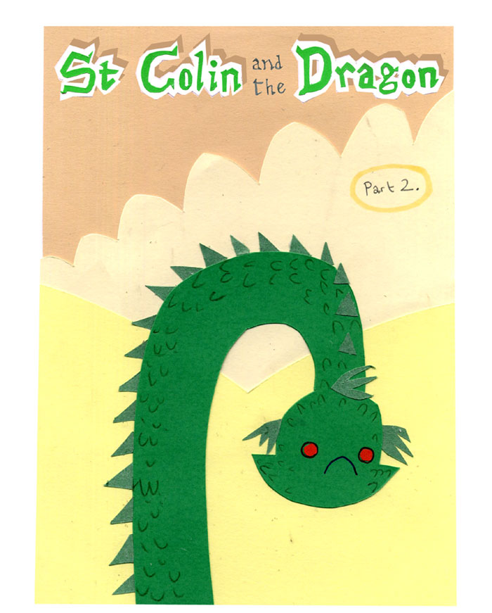 St Colin and the Dragon: part 2
