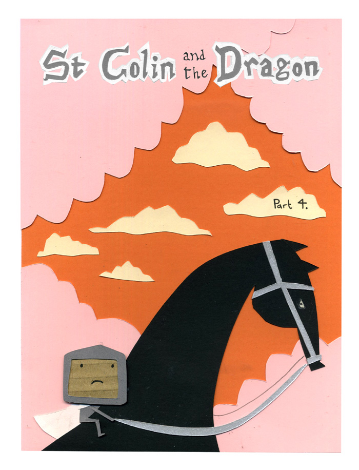 St Colin and the Dragon: part 4